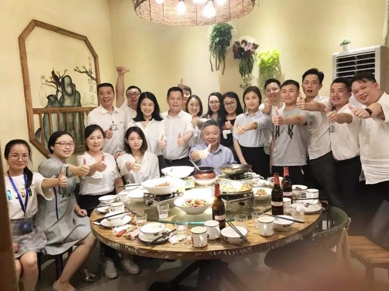 2017年春节前入职的老同事聚会